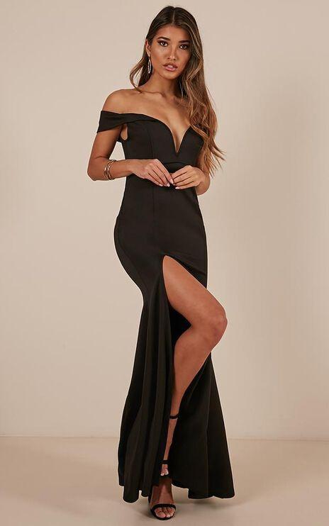 Modern Day Magic Maxi Dress In Black