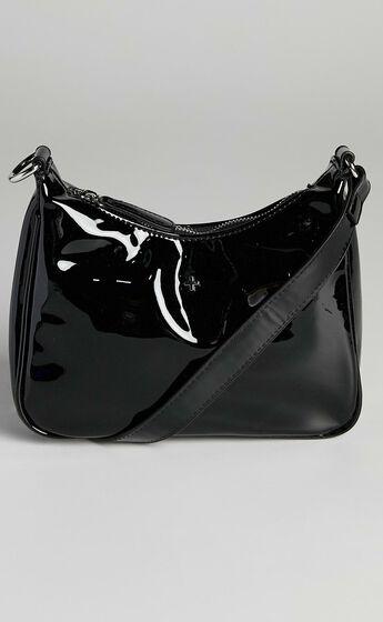 Peta and Jain - Totti Bag in Black Patent
