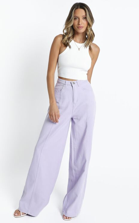 Cairo Jeans in Lilac