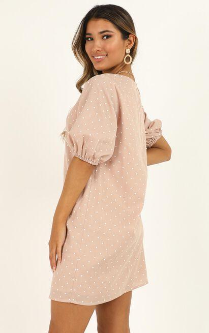 Imagine The Best Dress in beige spot - 20 (XXXXL), Beige, hi-res image number null