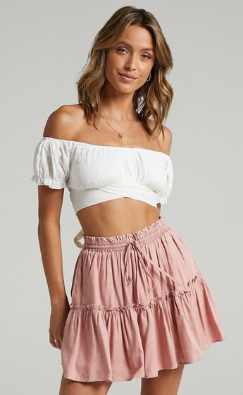 Final Promise Skirt in Blush