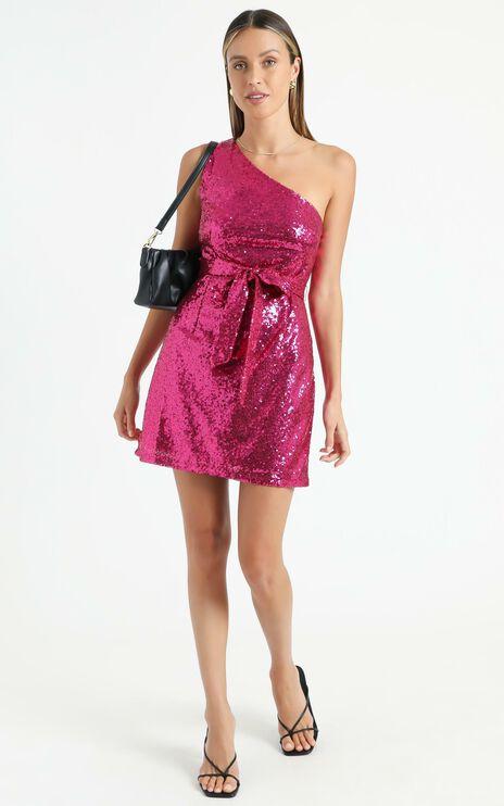 Safrae Dress in Pink