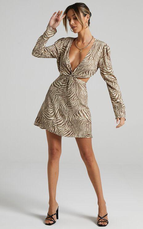 Ripon Dress in Zebra