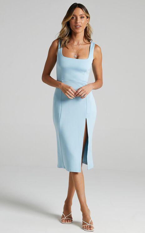 Mini Love Dress in Light Blue