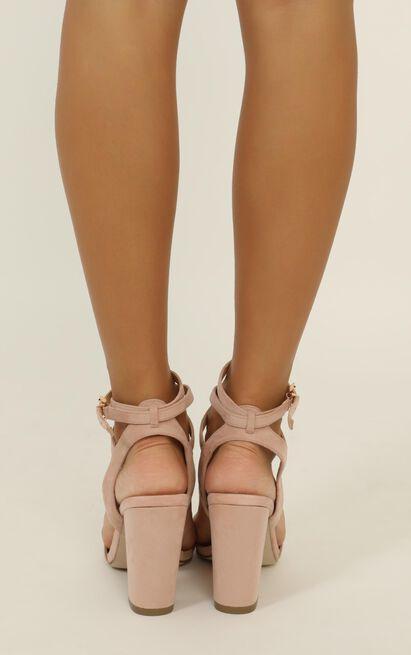 Verali - Callista Heels in musk micro - 10, Blush, hi-res image number null