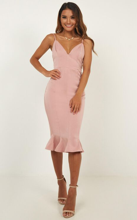 We Got This Dress In Blush