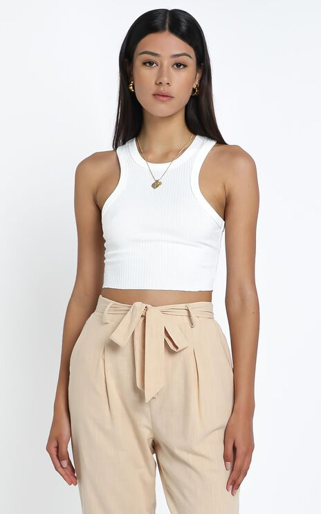 Jacy Top in White