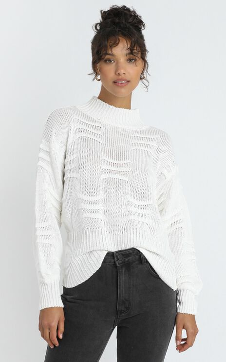 Laura Knit in White