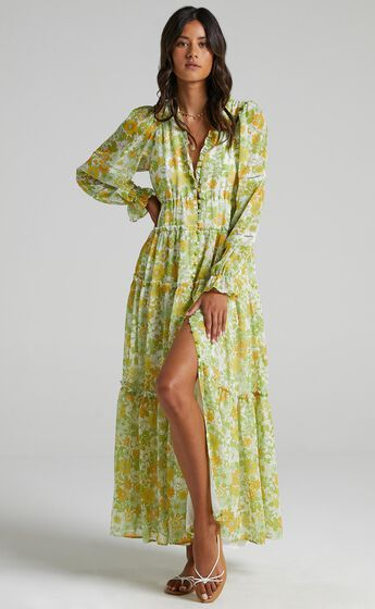 Syrna Dress in Harmony Floral