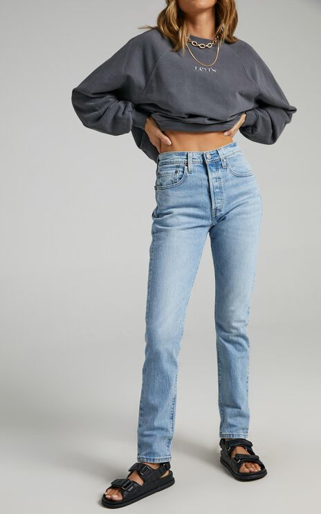Levis - 501 Skinny Jean in Tango Light