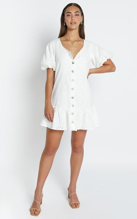 Montana Dress in White