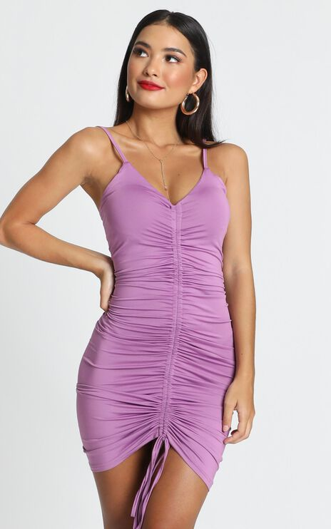 Youre Mine Dress In Lilac