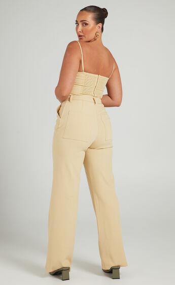 Danielle Bernstein - Classic Trouser in Taupe