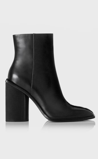 Alias Mae - Sylvie Boots in Black Burnished