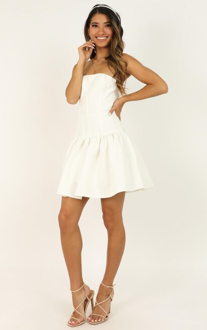 All The Memories We Share Dress in white - 20 (XXXXL), White, hi-res image number null