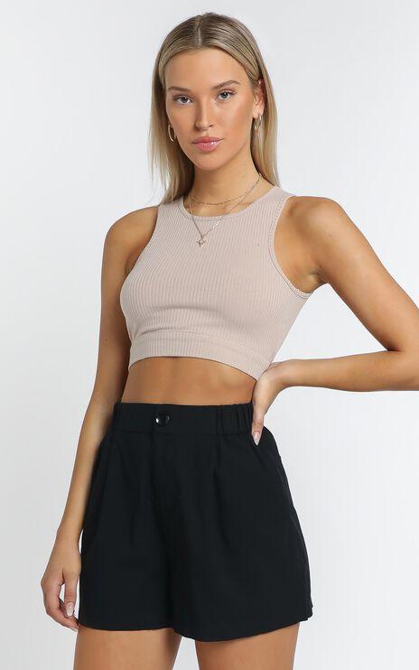 Jaymee Short in Black