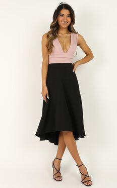Those Goosebumps Skirt In Black