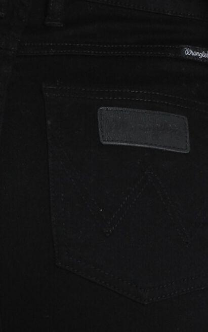 Wrangler - Hi Pins Jean in  super sonic - 14 (XL), Black, hi-res image number null