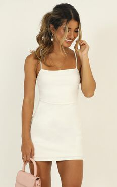 Costa Rica Dress In White