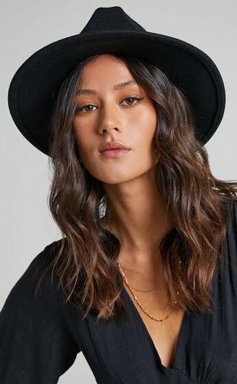 No Brainer Hat in Black