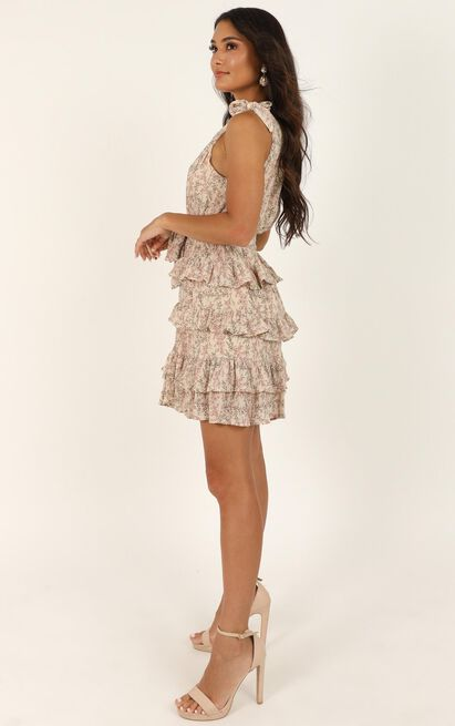 Should Have Known It Dress In Pink Floral - 16 (XXL), Pink, hi-res image number null