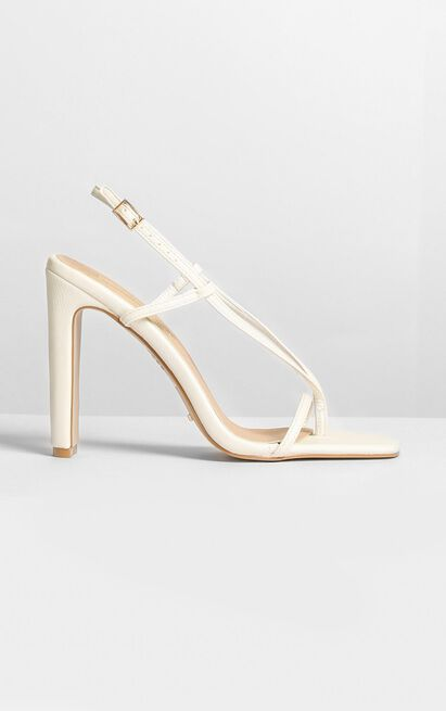 Billini - Yael Heels in off white - 5, White, hi-res image number null