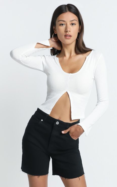 Alexandria Top in White