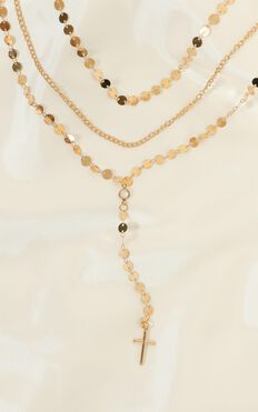 All I Need Layered Necklace In Gold
