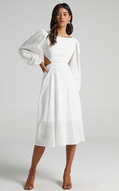 Yvonne Dress in White