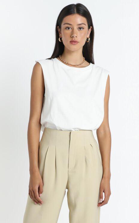 Gia Tee in White