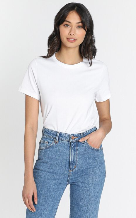AS Colour - Maple Organic Tee in White