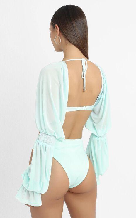 ZYA The Label - Lolita Bodysuit in Baby Blue