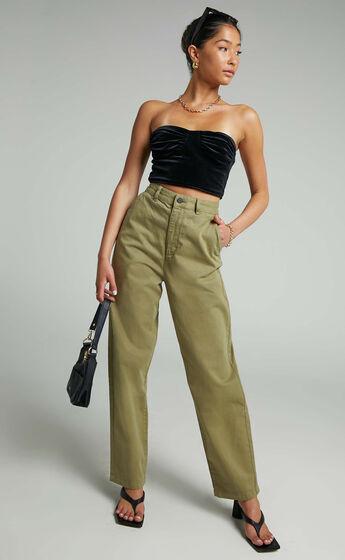 Dr Denim - Bella Pants in Olive