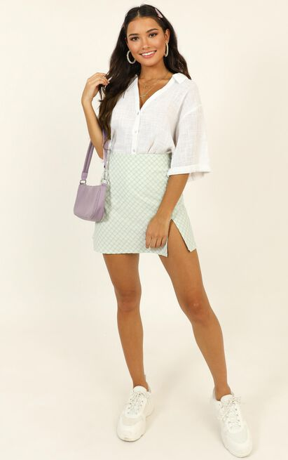 Just Beachy Shirt in white - 14 (XL), White, hi-res image number null