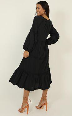 Rhythm Nation Dress In Black