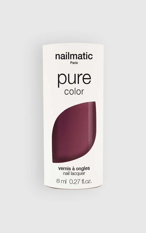 Nailmatic - Pure Color Misha Nail Polish in Plum Brown