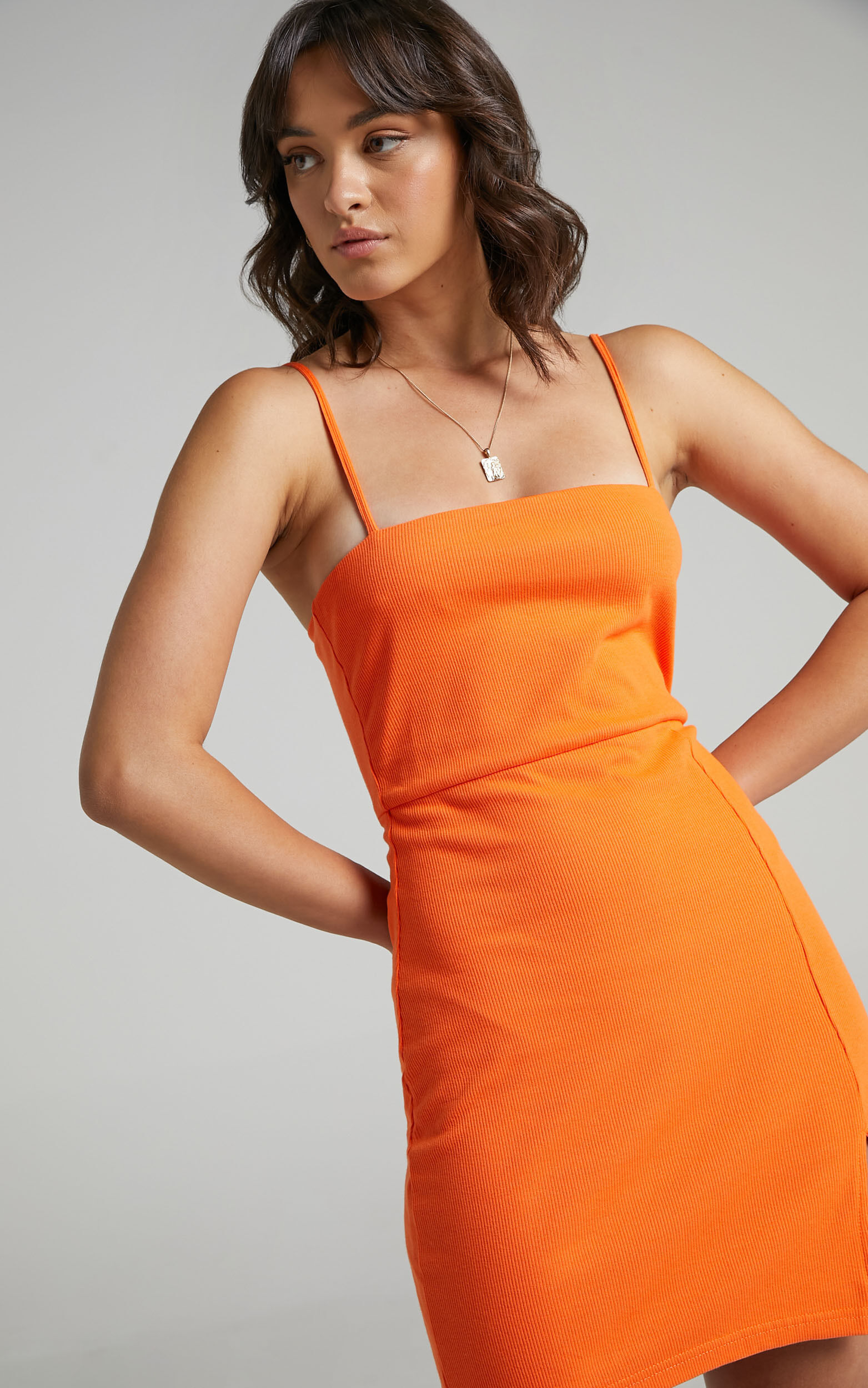 Island Babe Mini Dress in Orange - 06, ORG2, super-hi-res image number null