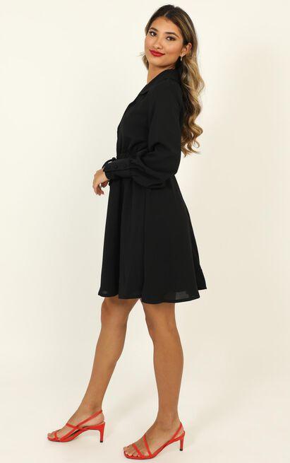 Weekly Planner Dress in black - 20 (XXXXL), Black, hi-res image number null