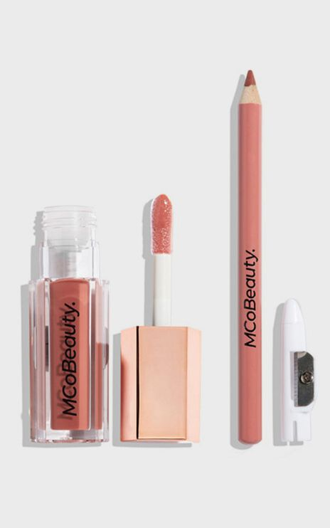 MCoBeauty - The Beauty Edit Pout Gloss & Lip Liner Set in Lullaby