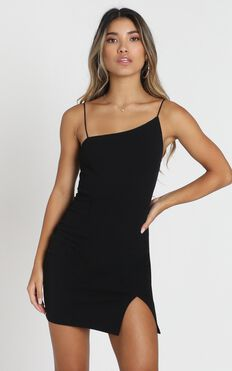 My Whole Heart Dress in Black