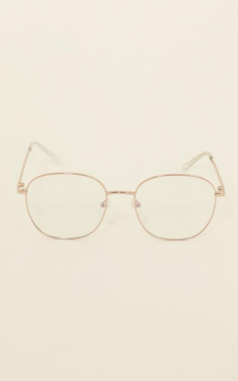 Quay - Jezabell Sunglasses In Gold Clear