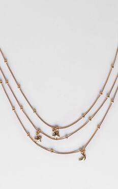 Peaceful Dreaming Necklace in Gold