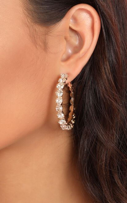 Marley Earrings In Gold, , hi-res image number null
