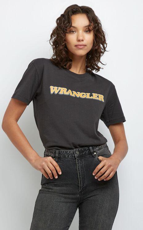 Wrangler - Stardust Tee in Worn Black