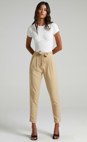 Building My Empire Pants in Camel