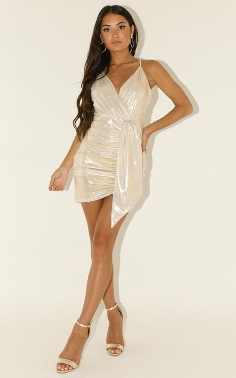 Survival Mode Dress In Silver