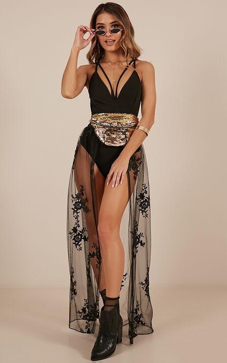Better Love Skirt In Black Lace