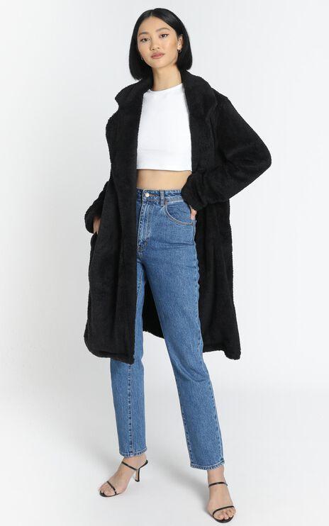 Adairia Coat in Black