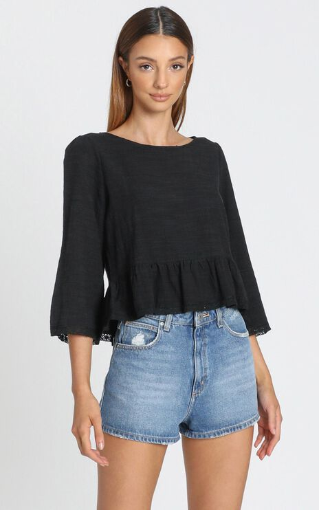 Kelsea Top in Black