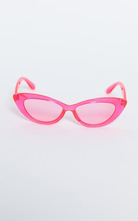 Reality Eyewear - Byrdland Sunglasses in Neon Pink